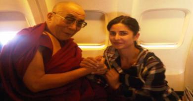 Bollywood Actress Katrina Kaif Wishes Dalai Lama On His Birthday