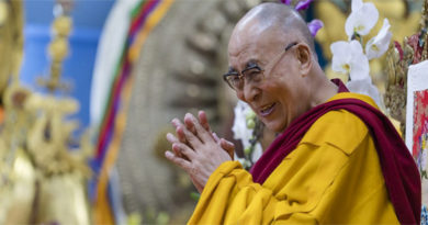 Dalai Lama Begins Four Days Teaching At Dharamsala