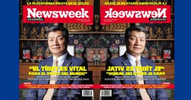 Dr. Lobsang Sangay Takes News Week Cover Story