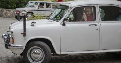 Dalai Lama Leaves Dharamshala Week Long Visit