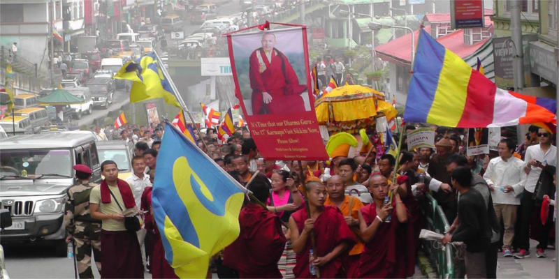 Sikkim CM Asks Center To Permit Karmapa To The State