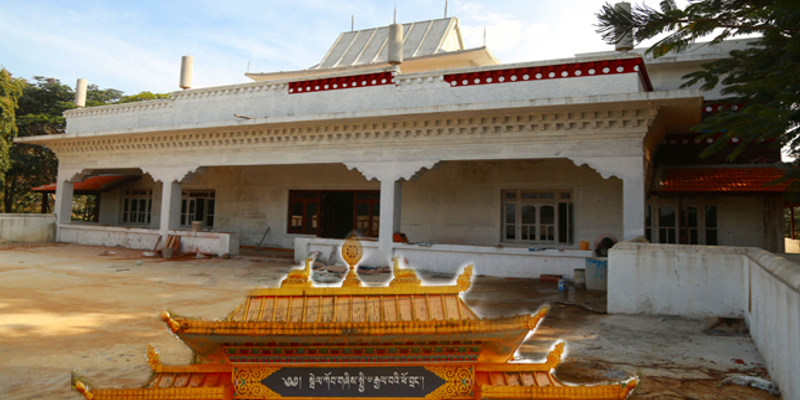 Dalai Lama Residence In South India Renovation Near Completion