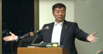 Declare Tibet As Core Issue: President Sangay At ML Sondhi Memorial Lecture