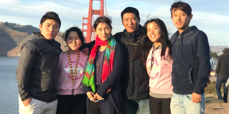 Former Chinese Captive Tibetan Activist Escapes To US, Reunited With Family