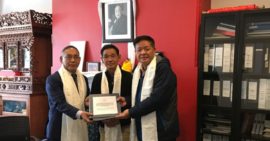 Penpa Tsering Hands Over The Office of Tibet To New Representative