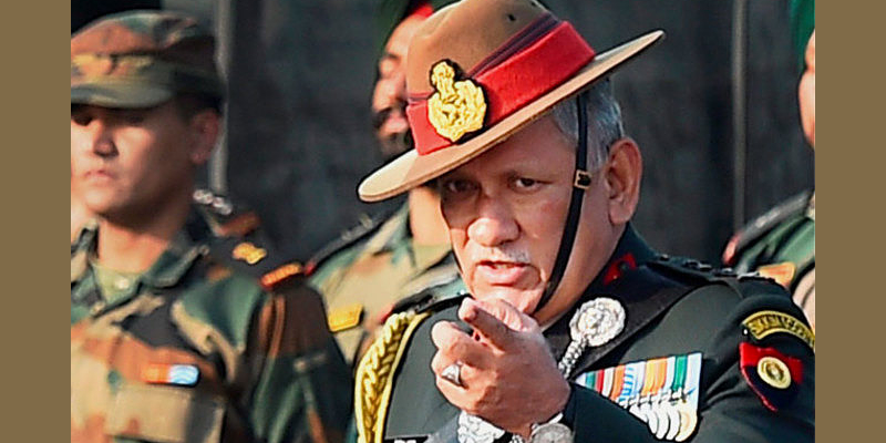 China is Powerful But India is Not a Weak Nation: Indian Army Chief