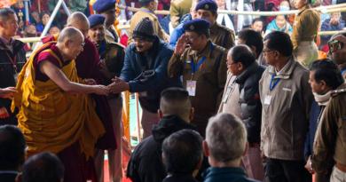 His Holiness the Dalai Lama Returns To Bodh Gaya