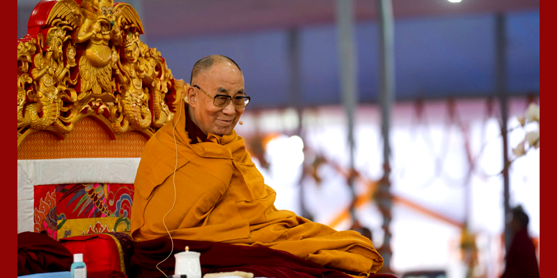 I'm a Buddhist Monk But I Respect All Religious Traditions: Dalai Lama