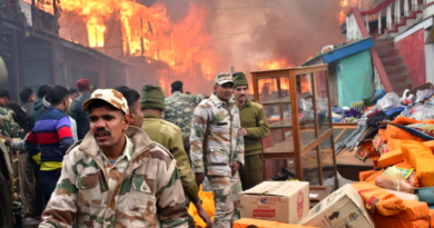 Over 30 Houses and Shops Burnt in a Massive Fire in Arunachal