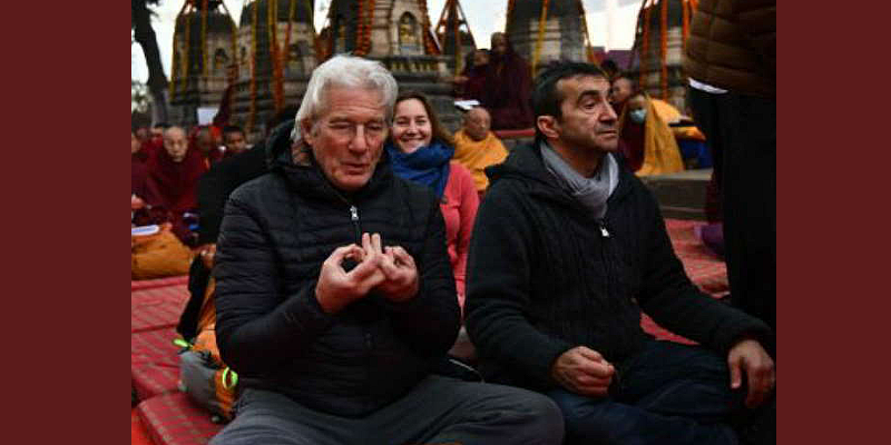 Richard Gere Arrives in Bodh Gaya To Attend Dalai Lama Teachings