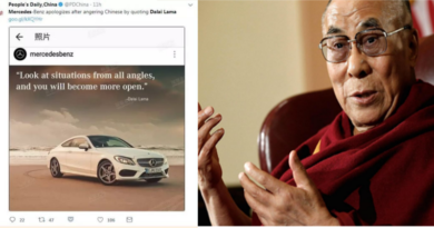 Germany's Daimler Writes an Apology to China for Quoting Dalai Lama in an Ad