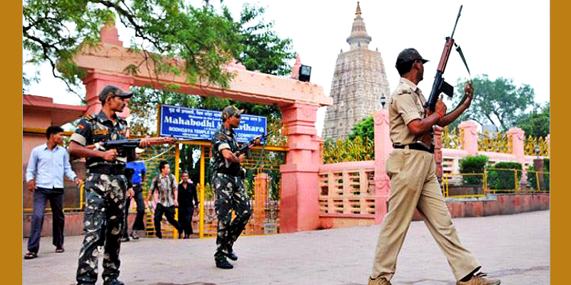 Militant Who Plotted Terror Blasts During Dalai Lama Visit Arrested