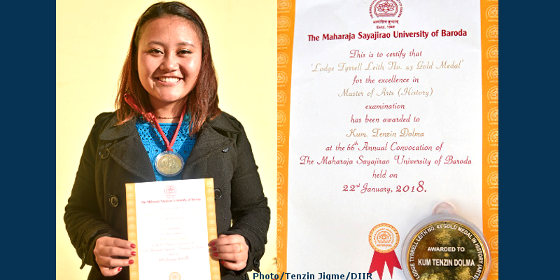 Stay Focused and Believe in Oneself Says Tibetan Gold Medalist Ms. Dolma