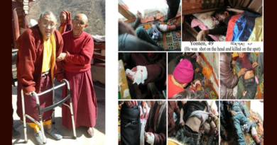 Tibetan Monk Disabled from Torture in Prison Released