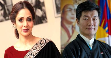 Tibetan President Saddened by Sridevi's Sudden Death