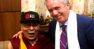 Two US Mayors Called Upon Dalai Lama in India