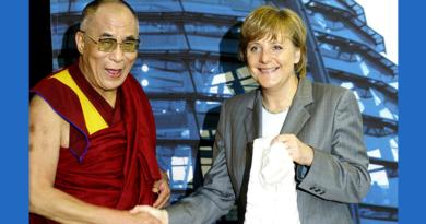 Dalai Lama Congratulates German Chancellor Angela Merkel