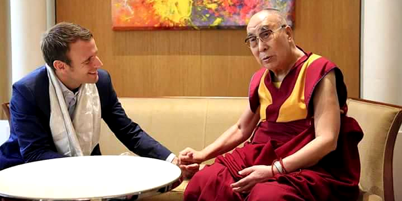 French President To Consult China for Meeting Dalai Lama?