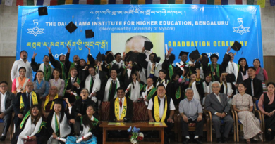 Dalai Lama Institute for Higher Education Holds 3rd Graduation Ceremony