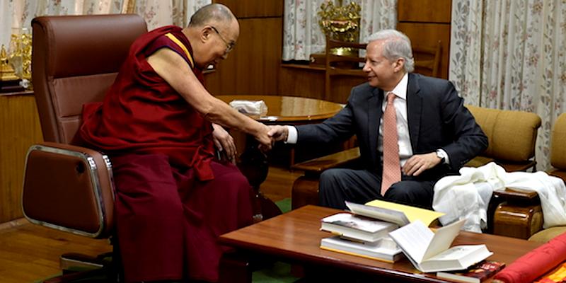 US Ambassador to India Visits Dalai Lama in Dharamsala