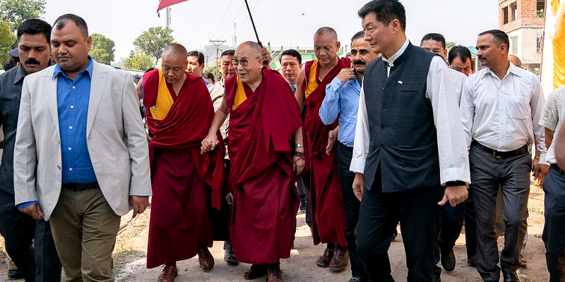 For Dalai Lama's Safety, India Framing Policy for Chinese Pilgrims