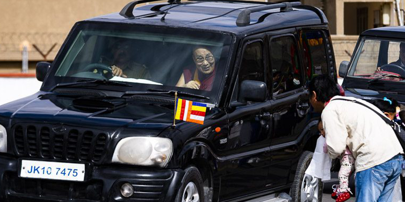 His Holiness the Dalai Lama Arrives in Ladakh -Schedule
