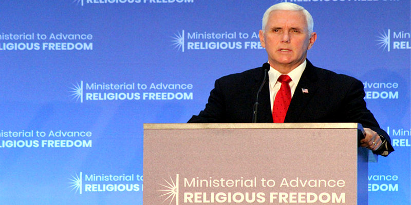 US Vice President Says Tibetans Brutally Repressed by China