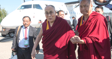 His Holiness the Dalai Lama Arrives in Zurich, Switzerland