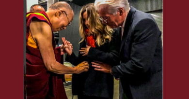 Richard Gere and Wife Receive Dalai Lama's Blessing for Their Expected Child