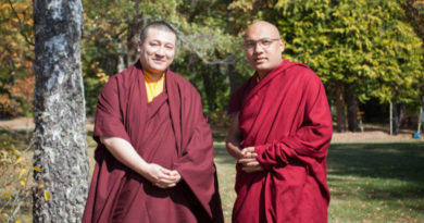 Two Karmapas Meet for the First Time in France, Issues Joint Statement