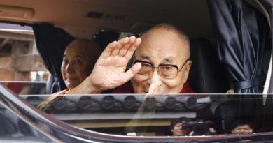 His Holiness the Dalai Lama Returns to Dharamsala From Japan