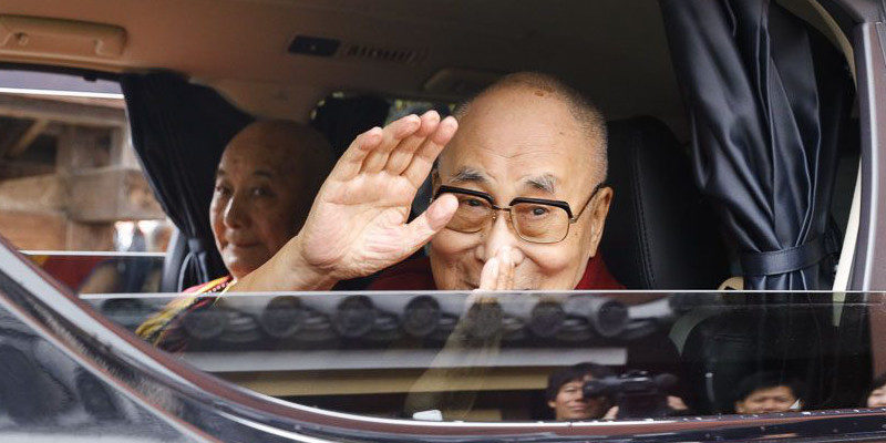 His Holiness the Dalai Lama Returns to Dharamsala From Japan