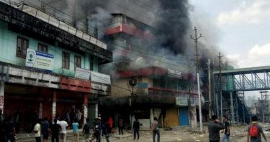 Prominent Tibetan Complex Burnt Amid PRC Row in Arunachal
