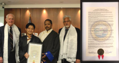 US City Richmond Issues March 10 Proclamation in Support of Tibet