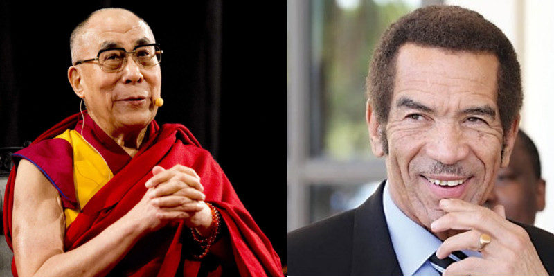 Botswana's Former President Set To Visit Dalai Lama in India