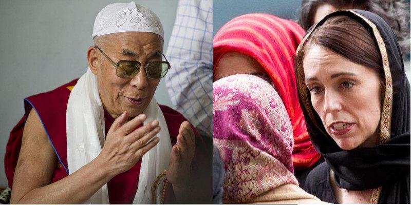 Dalai Lama Applauds New Zealand PM's Courage & Leadership