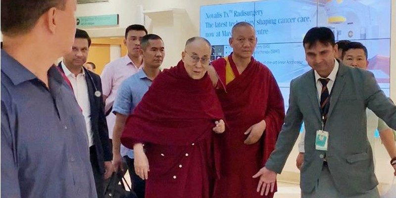 Dalai Lama Has Recovered Brilliantly Says Follow-up Result