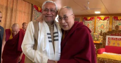 Nitish Kumar Joins Call to Confer Bharat Ratna to Dalai Lama