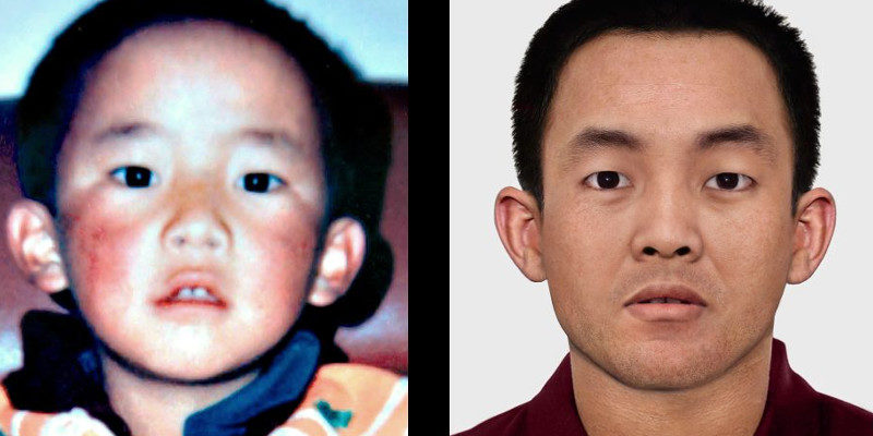 This is How Tibet's 11th Panchen Lama will Look Like Today