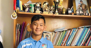 Tibetan Boy Selected to an Australian State Under 14 Football Team