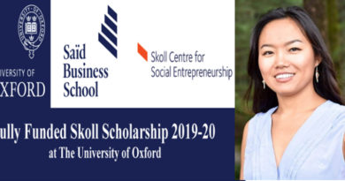 Tibetan Woman Wins Prestigious Skoll Scholarship for Oxford University