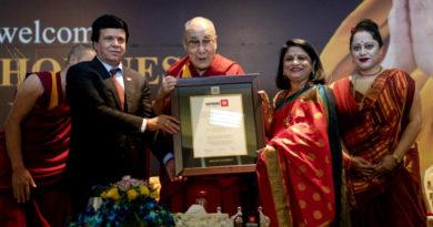 Dalai Lama Conferred With Honorary Doctorate Degree