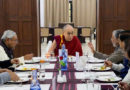 Bihar Chief Minister Welcomes Dalai Lama to His Residence