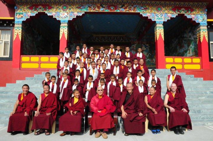 Lhundrub Chime Gatsal Ling Lamas & monks